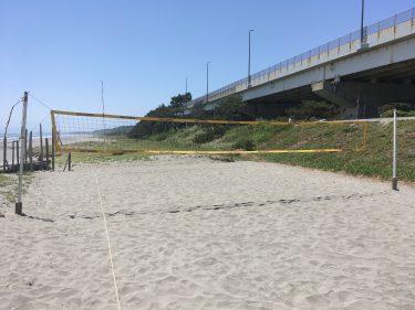【ビーチバレーを始めよう 5】No body No body Swing Swing! カリフォルニアスタイルでビーチバレーを始めよう。(静岡県湖西市:白須賀海岸)
